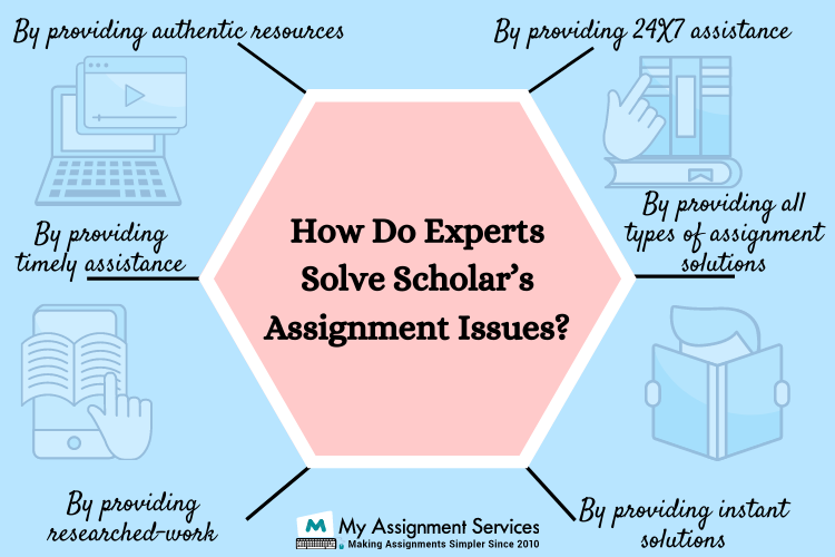 how do experts solve assignments scholar's issue