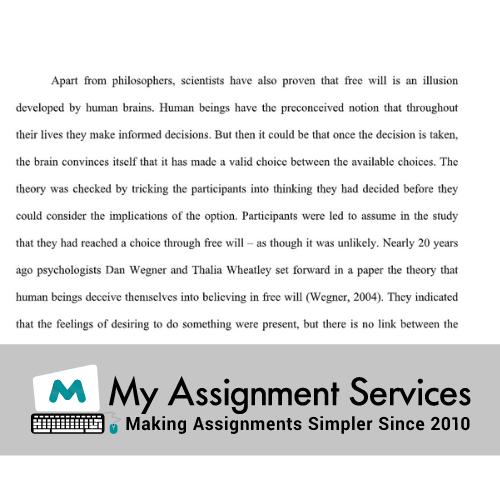 Philosophy assignment help