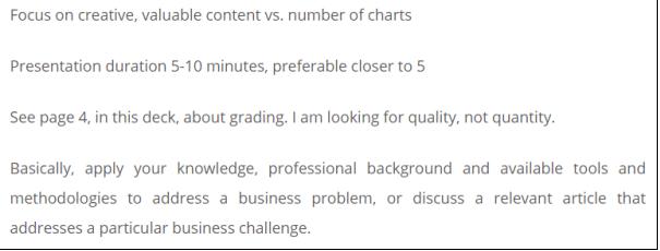 business analytics homework sample