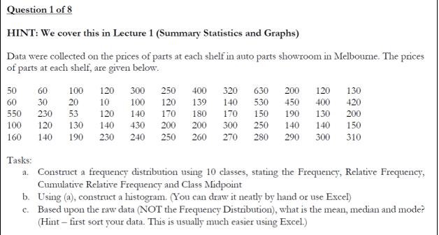 Statistics Assignment HelpServices