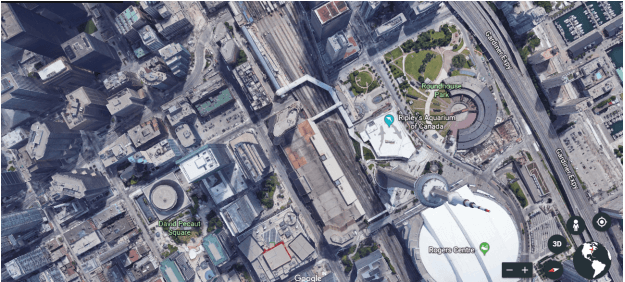 A Snapshot of Google Earth View