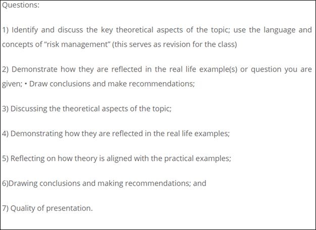 management studies homework sample