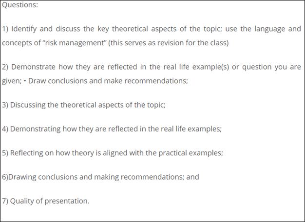 management studies homework sample