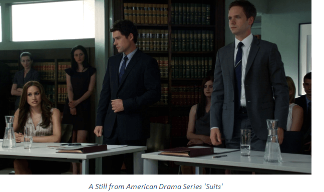 A Still from American Drama Series 'Suits'